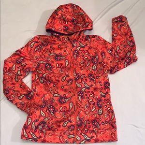 Girls REI jacket orange Size 14-16 Large Orange